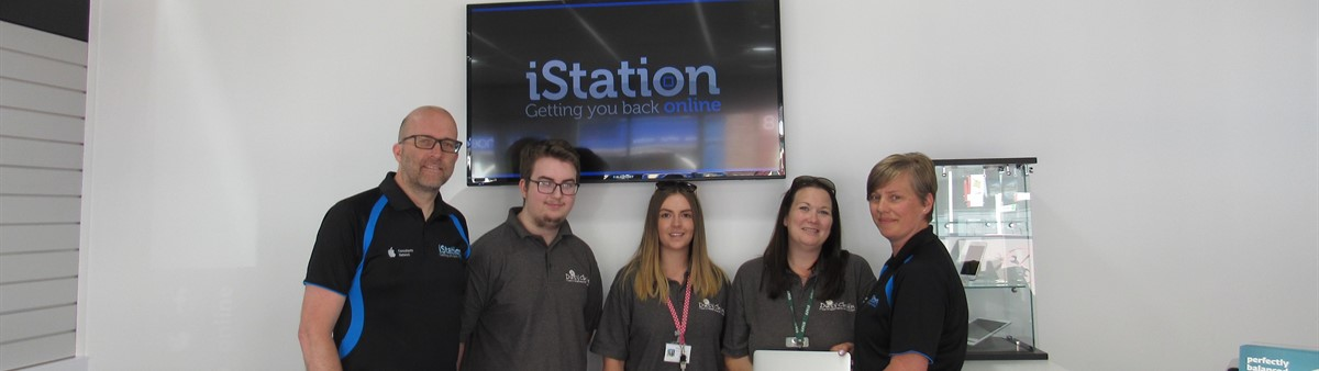 Connor's the right fit for iStation