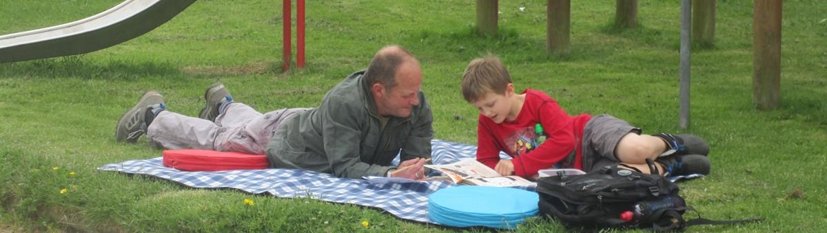 Ken and son Rowan